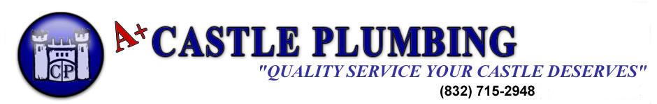 A+ Castle Plumbing Logo